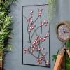 Wall Art Metal Wintersweet Floral at Home