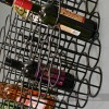 12 Bottle Black Wall Wine Rack