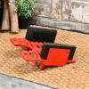 Red Cast iron Boot brush & Scraper