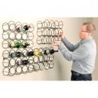 Cellamagic wall mount wine rack (12 bottles)