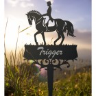 Dressage Horse Memorial Ground Spike