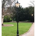 Victorian Lamp Post - Black 3.2m