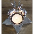 Stag Tea Light Holder