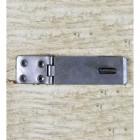 4.5 Inch Plain Iron Hasp & Staple