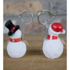 Back view of the Snowman Name Card Holder