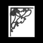 Art Nouveau Shelf Bracket Created From Iron