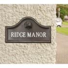 Beagle house name plaque