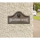 Boxer House Name Plaque