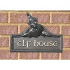 Elf House Name Sign