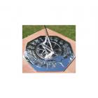 Chrome Navigator Sundial 260mm (10¼