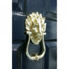 Door Knocker Downing Street Lion