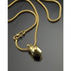 """Amara Falls"" Memorial Urn Necklace"