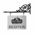Pimlico Manor Hand Cast Hanging Shop Sign Bracket