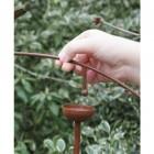 Rockin Robin Wrought Iron Bird Spinner