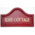 House Name - Red Traditional Signs (16