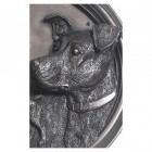 House Sign - Bronze Finish - Jack Russel