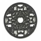 Trivet - heavy duty V5 Round - Black