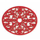 Trivet - Heavy Duty V6 - Oval - Red