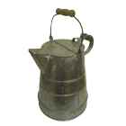 1 Gallon Buckby Watercan Galvanised - Traditional Style