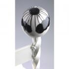 Cream Boot Scraper ceramic ball close up