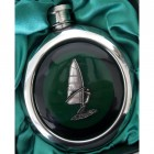 Wind Surfer Whisky Flask