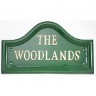Green Traditional House Name Signs