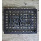 '1883' Cast Iron Air Brick - 9