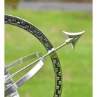 Close-up of the Arrow on the Armillary