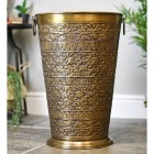 """Bennett Hall"" Large Umbrella Stand with Ornate Patterns"