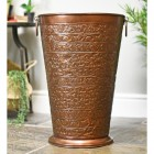 """Bennett Hall"" Large Umbrella Stand Finished in an Antique Copper"
