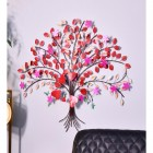 """""""Hearts Desire"""" Wall Art in Situ on the Wall"""