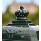 """Pine Forest"" Green Camden Free Standing Post Box Top Finial"