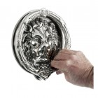 Bright Chrome Sandringham door knocker