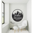 Adventure Awaits in Living Room Space