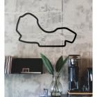 Albert Park Motor Circuit Wall Art in Full