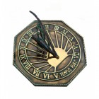 """""""Copernicus"""" Sundial Finished in an Antique Brass"""