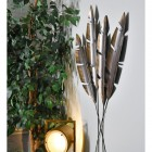 Antique Bronze Feathers Wall Art in Situ in the home