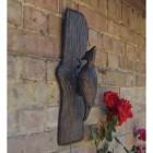 Woodpecker Wall Art in an Antique Bronze Finish