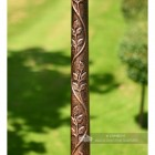 Antique Copper Lamp Post Column Made From Cast Iron