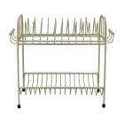 Antique Cream Shabby Chic Draning Rack