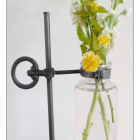 Antique Flower Vase Holder
