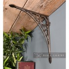 """Ironbridge"" Shelf Bracket in an Antique Nickle Finish"