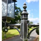 Middle Finial on the Double Headed Lamp Post