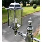 Traditional Design Lamp Post Lantern in Situ