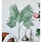 """""""Areca Palm"""" Leaves Wall Art to Scale"""