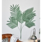 """""""Areca Palm"""" Leaves Wall Art in Use in the Home"""