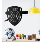 Personalised Wall Art 'Arsenal Cannon'
