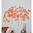 """""""Autumn Bushes"""" Wall Art in Use in the Home"""