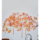 """""""Autumn Bushes"""" Wall Art to Scale"""