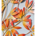 Close-up of the Orange Leaves on the Bush Wall Art